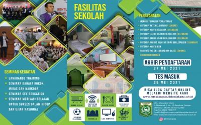 INFO PPDB 2021 - 2022 MTS MANARATUL ISLAM